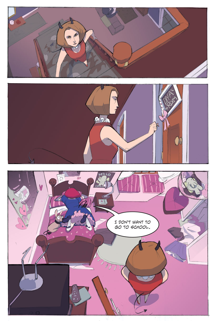 Evil Diva Issue 1 Page 2