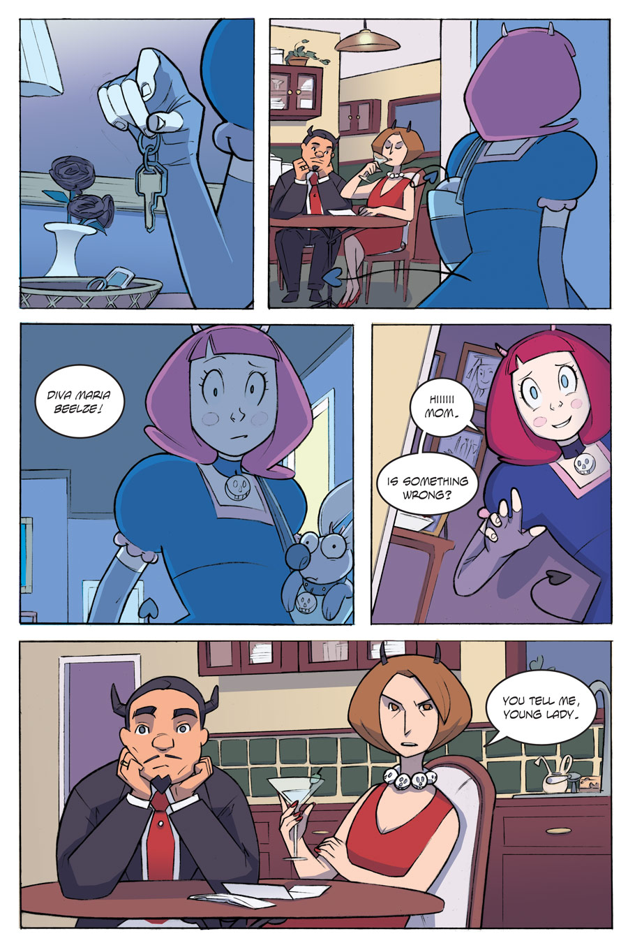 Evil Diva Issue 1 Page 22