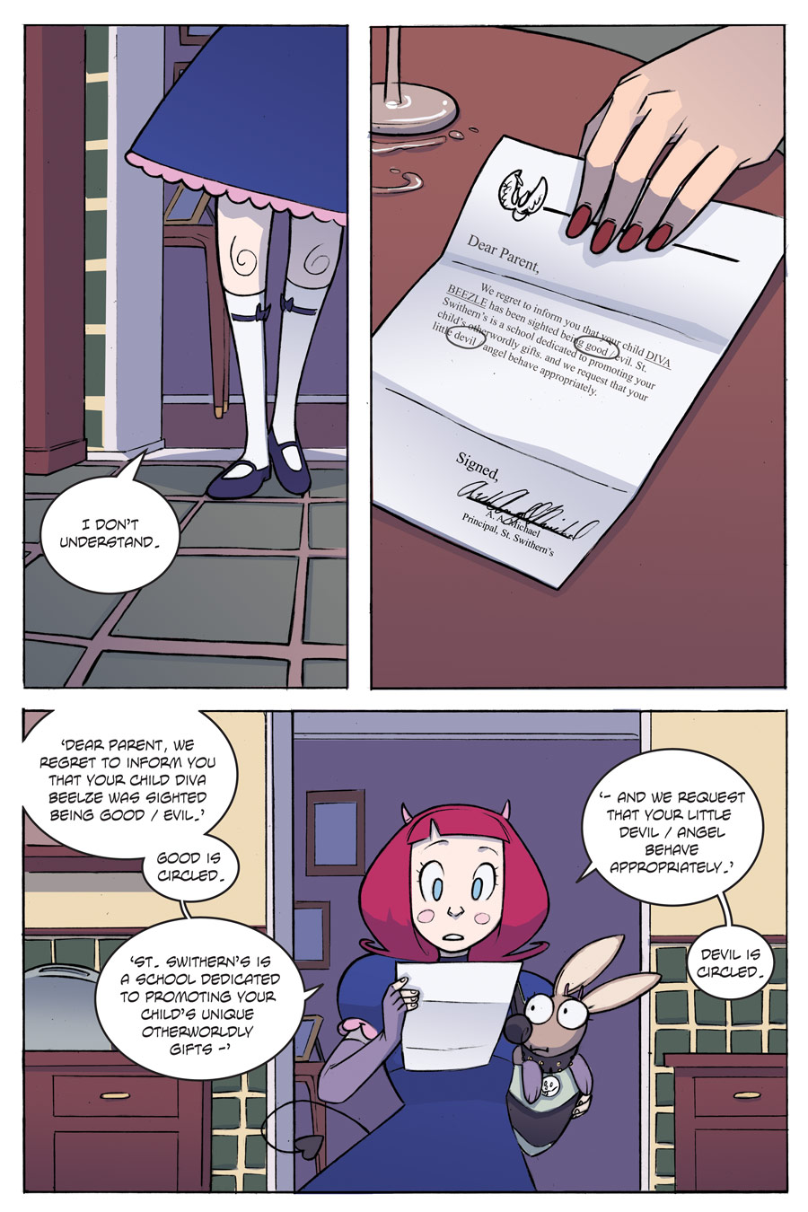 Evil Diva Issue 1 Page 23