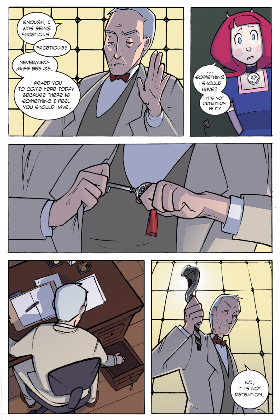 Evil Diva Issue 1 Page 38