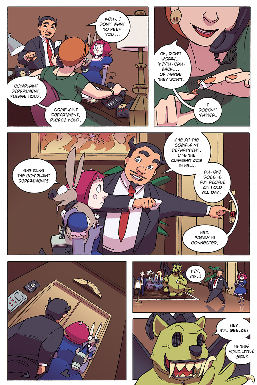 Evil Diva Issue 3 Page 10