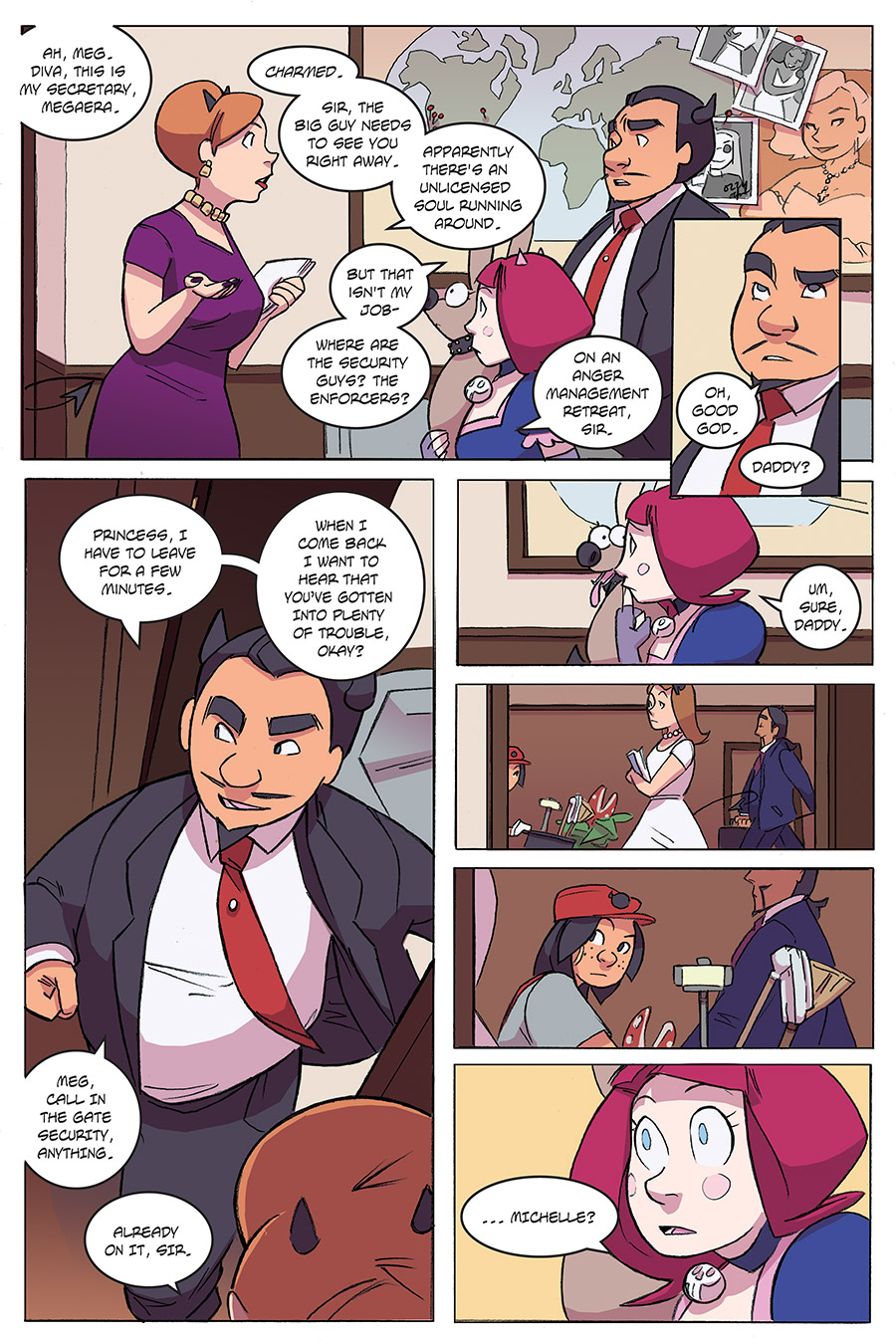 Evil Diva Issue 3 Page 14