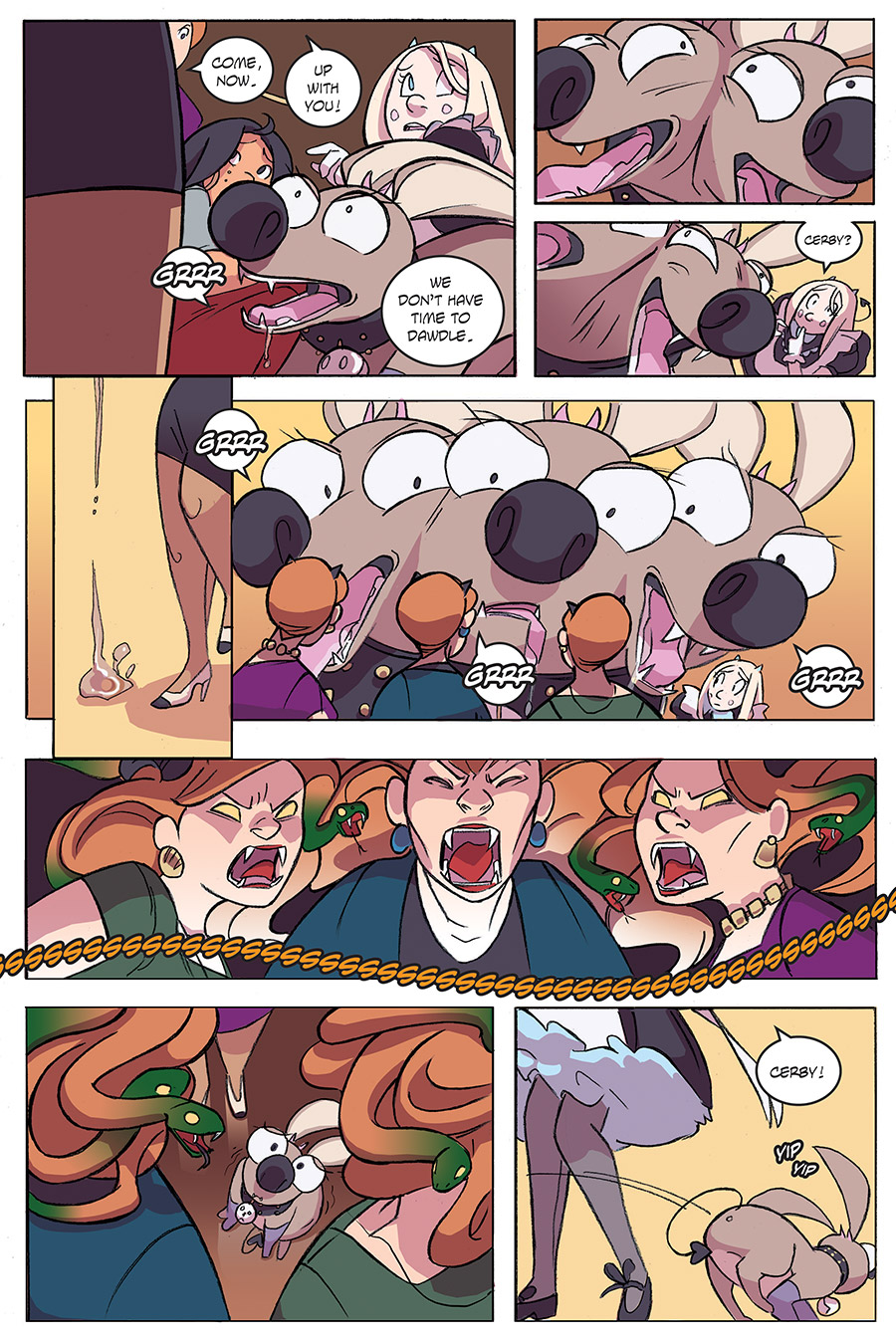 Evil Diva Issue 3 Page 19