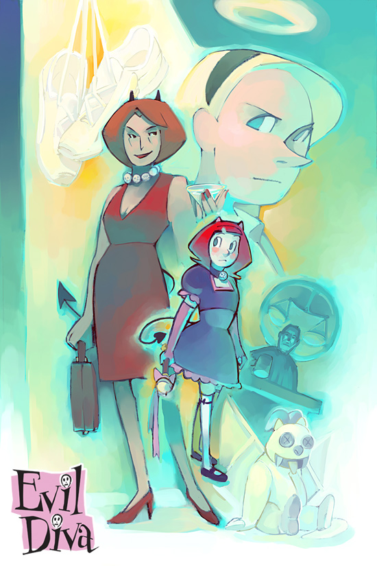 Evil Diva Issue 5 Cover