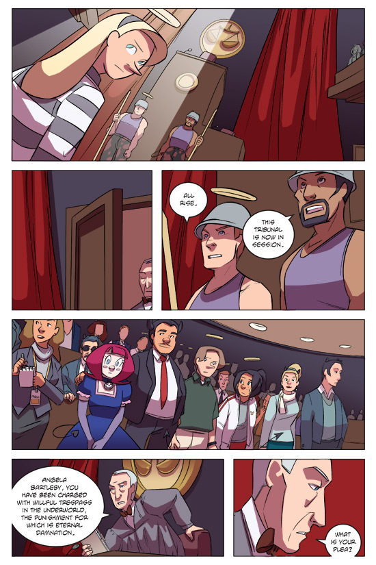 Evil Diva Issue 5 Page 1