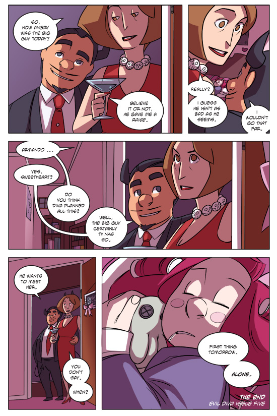 Evil Diva Issue 5 Page 36