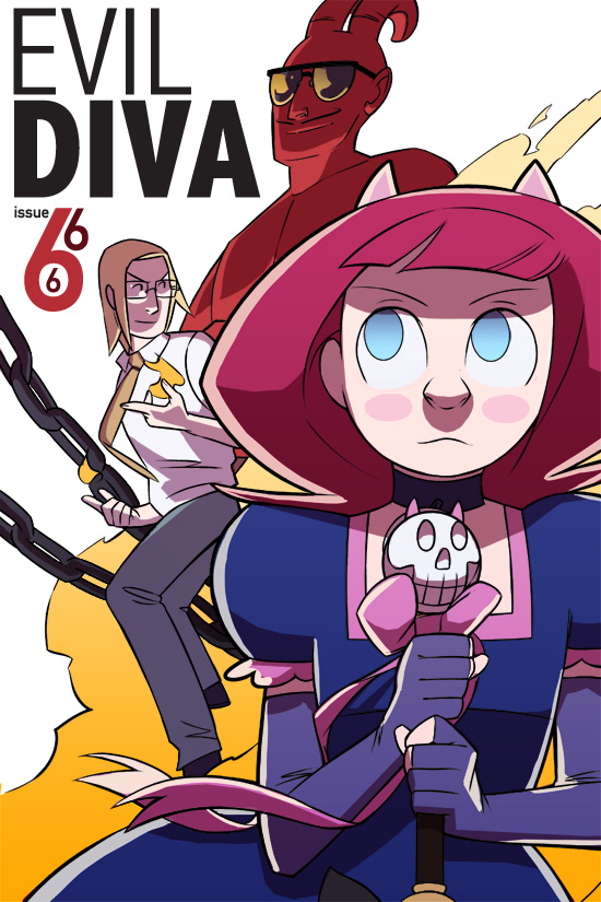 Evil Diva Issue 6 Cover
